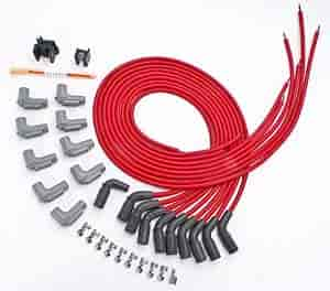 MSD Ignition 32139: Red Universal 8.5mm Spark Plug Wire Set GM LT1 on fuel injection, ignition coil, spark plug wires, mopar plug wires, nology plug wires, oil pump, ford racing plug wires, bosch plug wires, overhead camshaft, fuel pump, magnecor plug wires, routing plug wires, scout 80 plug wires, air filter, mallory plug wires, ignition timing, moroso plug wires, accel plug wires, ngk plug wires, fuel filter, timing belt, custom motorcycle plug wires, electronic control unit, ford motorsports plug wires, honda plug wires, exhaust system, spark gap, ignition system, engine control unit, colours of a uk plug in wires,