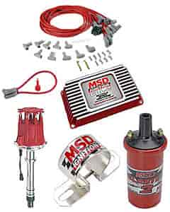 MSD Ignition 6421K - MSD SB/BB-Chevy 6AL-2 Ignition Kit