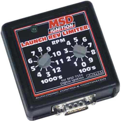 MSD Ignition 7551 - MSD Manual RPM Launch Control