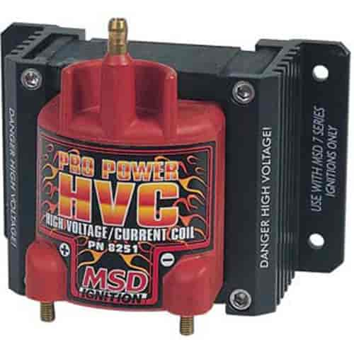 MSD Ignition 8251 - MSD HVC & HVC II Ignition Coils