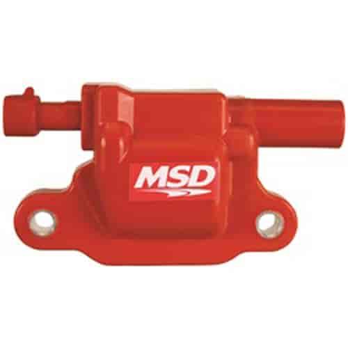 msd ignition 8265 red blaster ignition coil 2005 2016 gm. Black Bedroom Furniture Sets. Home Design Ideas