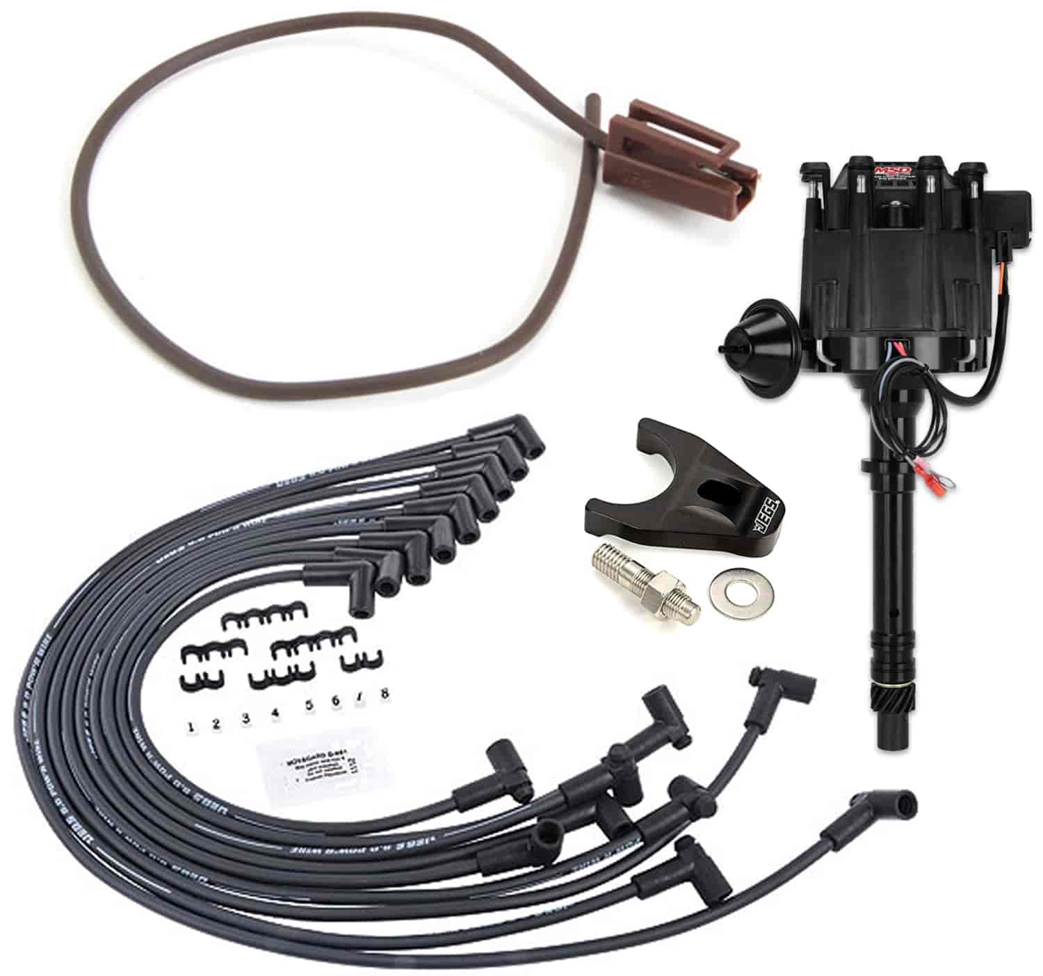 MSD Ignition Small Block Chevy HEI Ignition System Kit