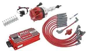 MSD Ignition 8455K - MSD 5.0L Ford Ignition Kits