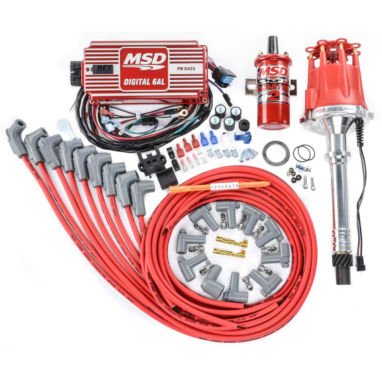 Msd Ignition 85551k Msd Ignition Kit Billet Amp Pro Billet