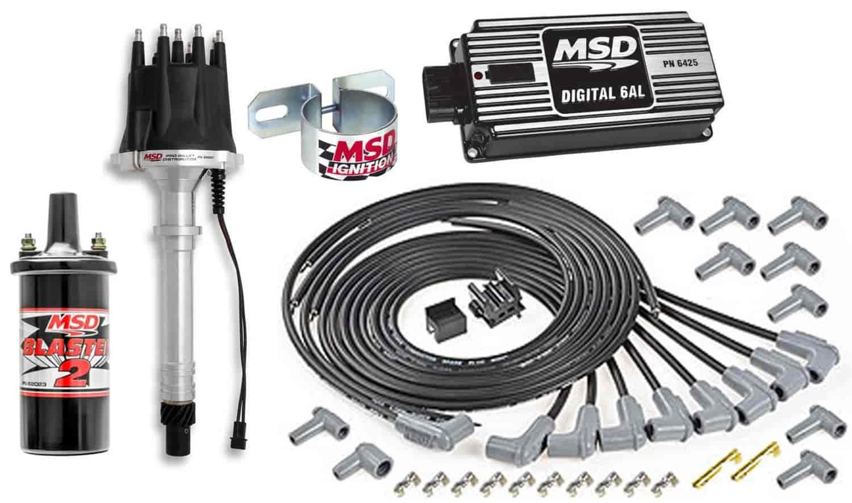 MSD Ignition 85557K: Ignition Kit Chevy V8 | JEGS