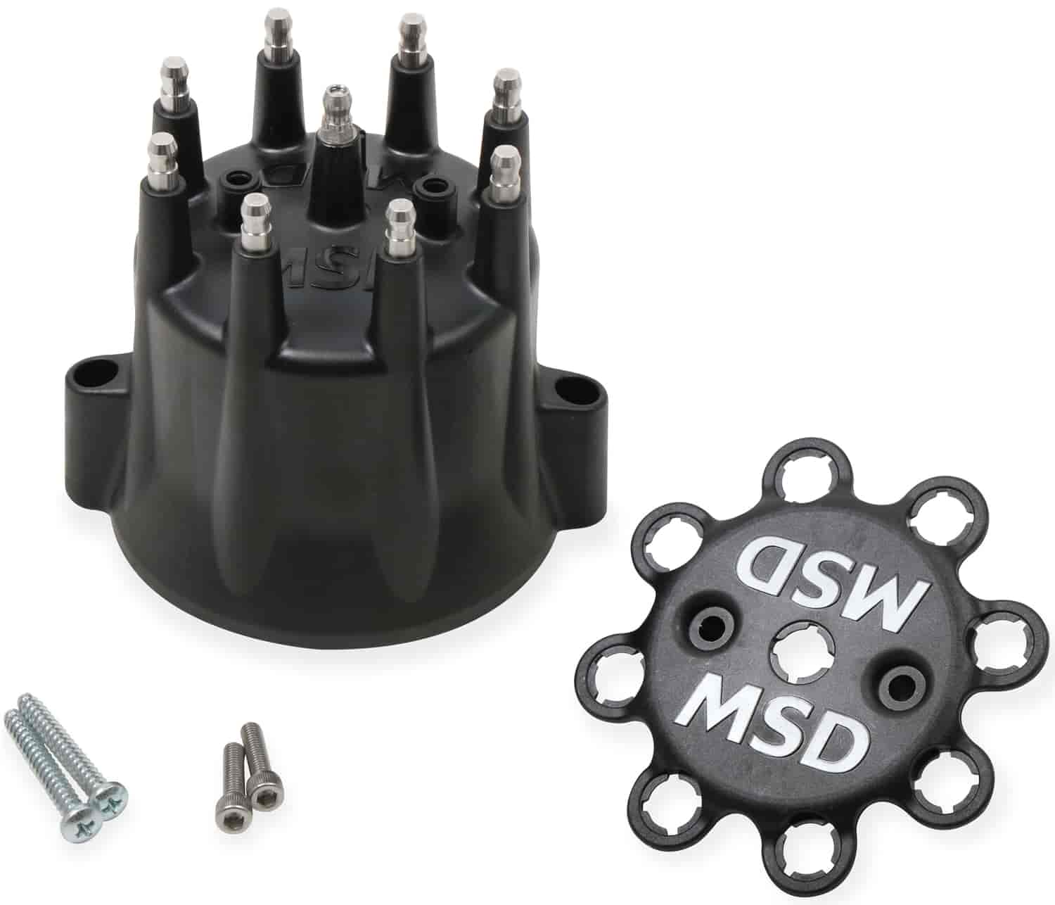 Msd Ignition 85653  Distributor Cap W  Wire Retainer Gm