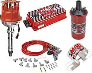 msd ignition 8570k pro billet small cap distributor kit chevy v8 jegs rh jegs com