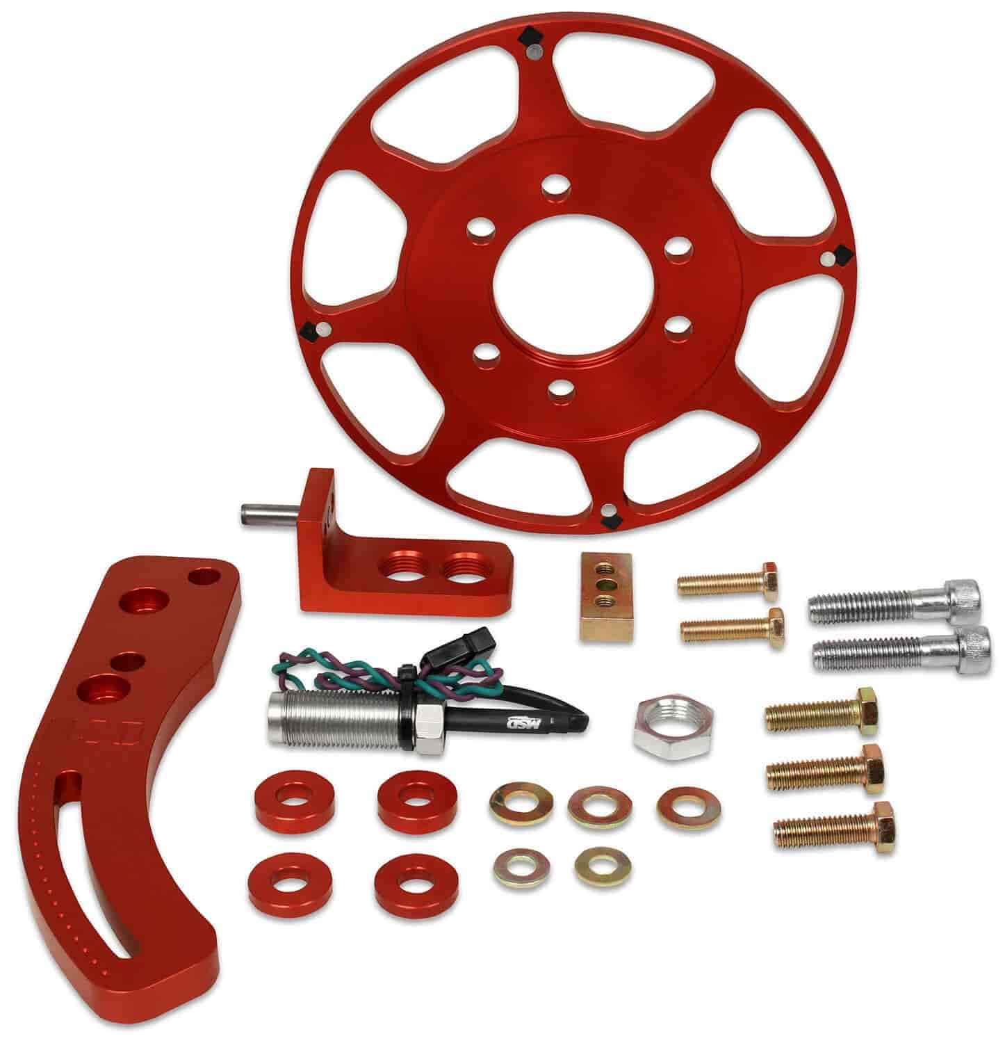 MSD Ignition Flying Magnet Crank Trigger Kit Big Block Chevy