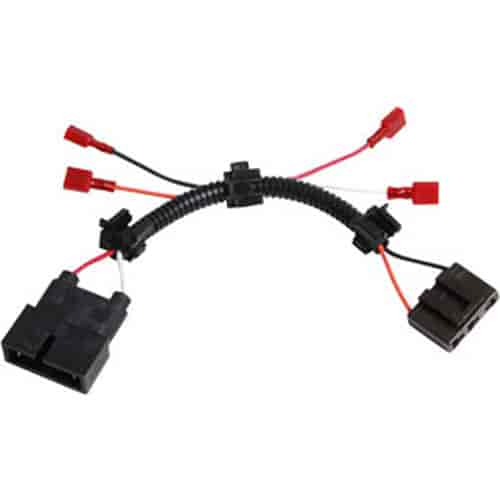 121 8874 msd ignition 8874 plug in wiring harness, msd to ford tfi jegs Wiring Harness Diagram at gsmx.co