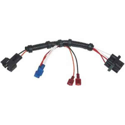 121 8876 msd ignition 8876 plug in wiring harness, msd to gm dual Wiring Harness Diagram at bakdesigns.co