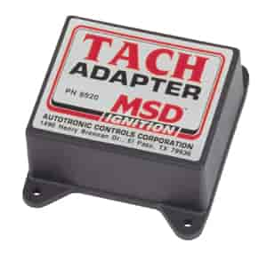 MSD Ignition 8920 - MSD Tach Adapter - Points or Amplifier and Magnetic Pickup
