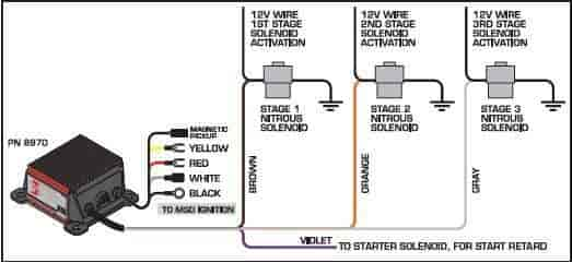 121 8970Diagram msd ignition 8970 3 stage retard control includes (4) mounting on jegs roll control wiring diagram