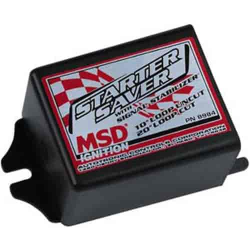 MSD Ignition 8984 - MSD Starter Saver w/Signal Stabilizer