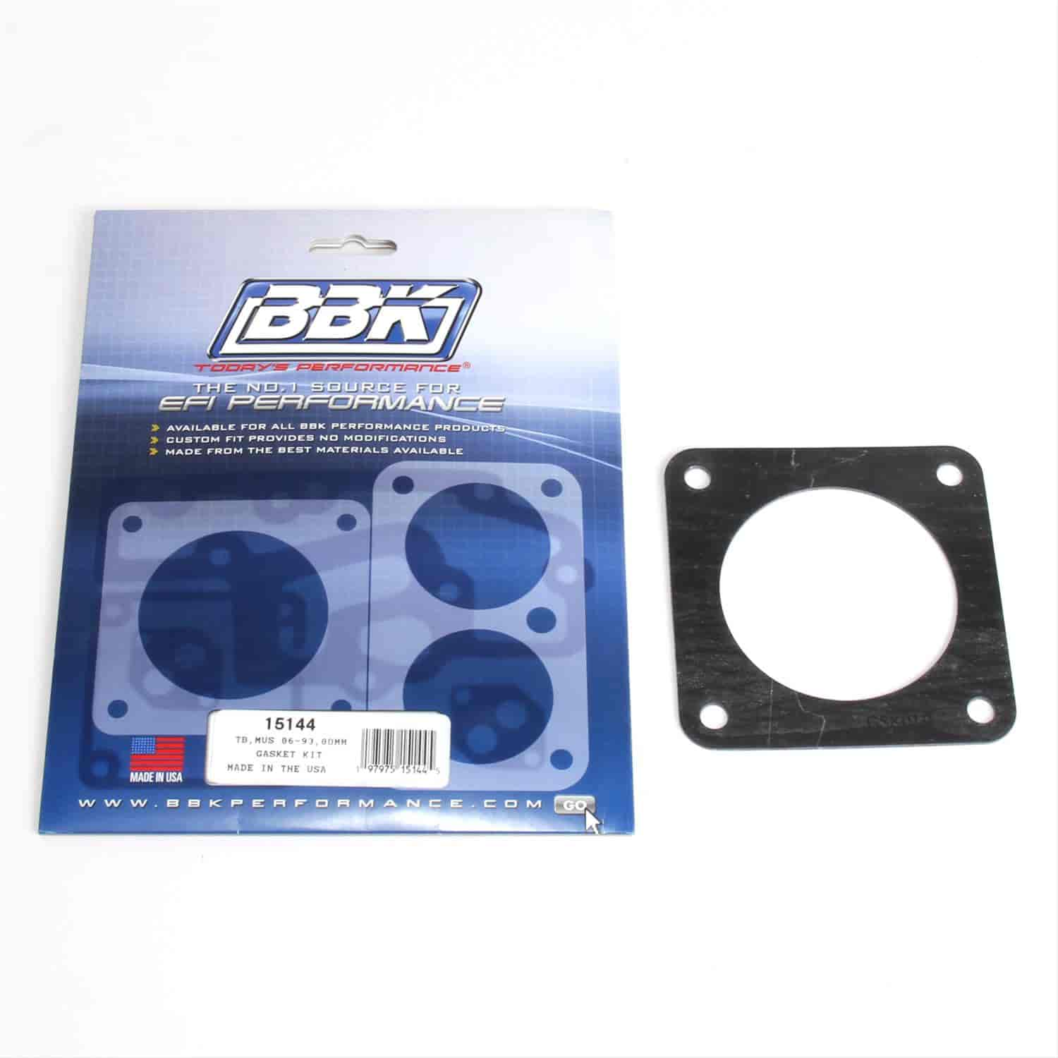 BBK Performance Products 15144 - BBK Throttle Body Gasket Kits