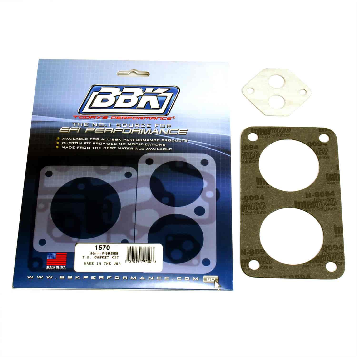 BBK Performance Parts 1570 - BBK Performance Parts Throttle Body Gasket Kits