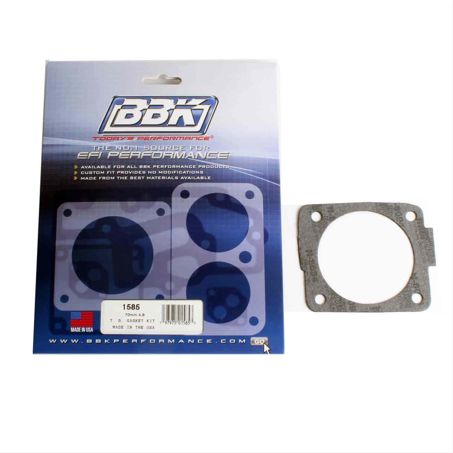BBK Performance Products 1585 - BBK Throttle Body Gasket Kits