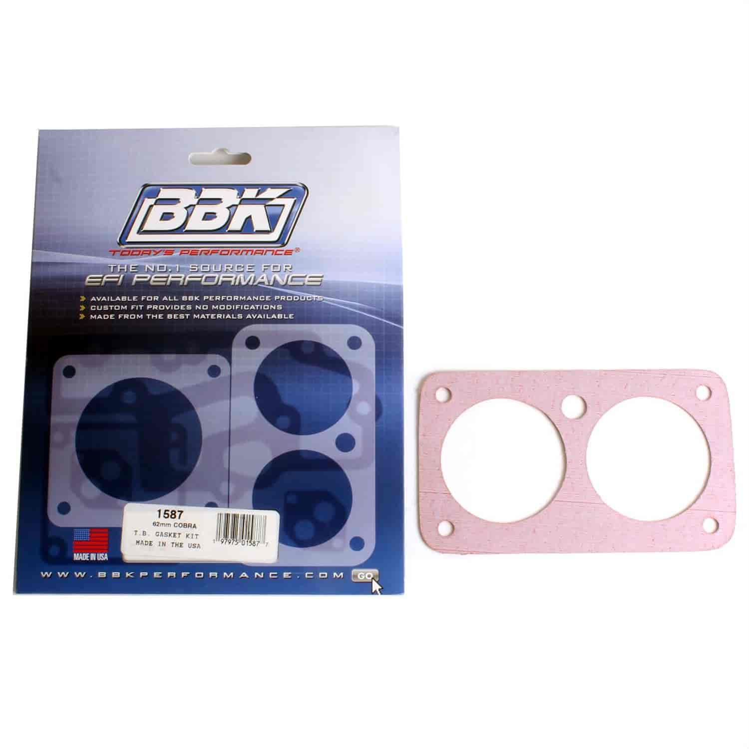 BBK Performance Products 1587 - BBK Throttle Body Gasket Kits