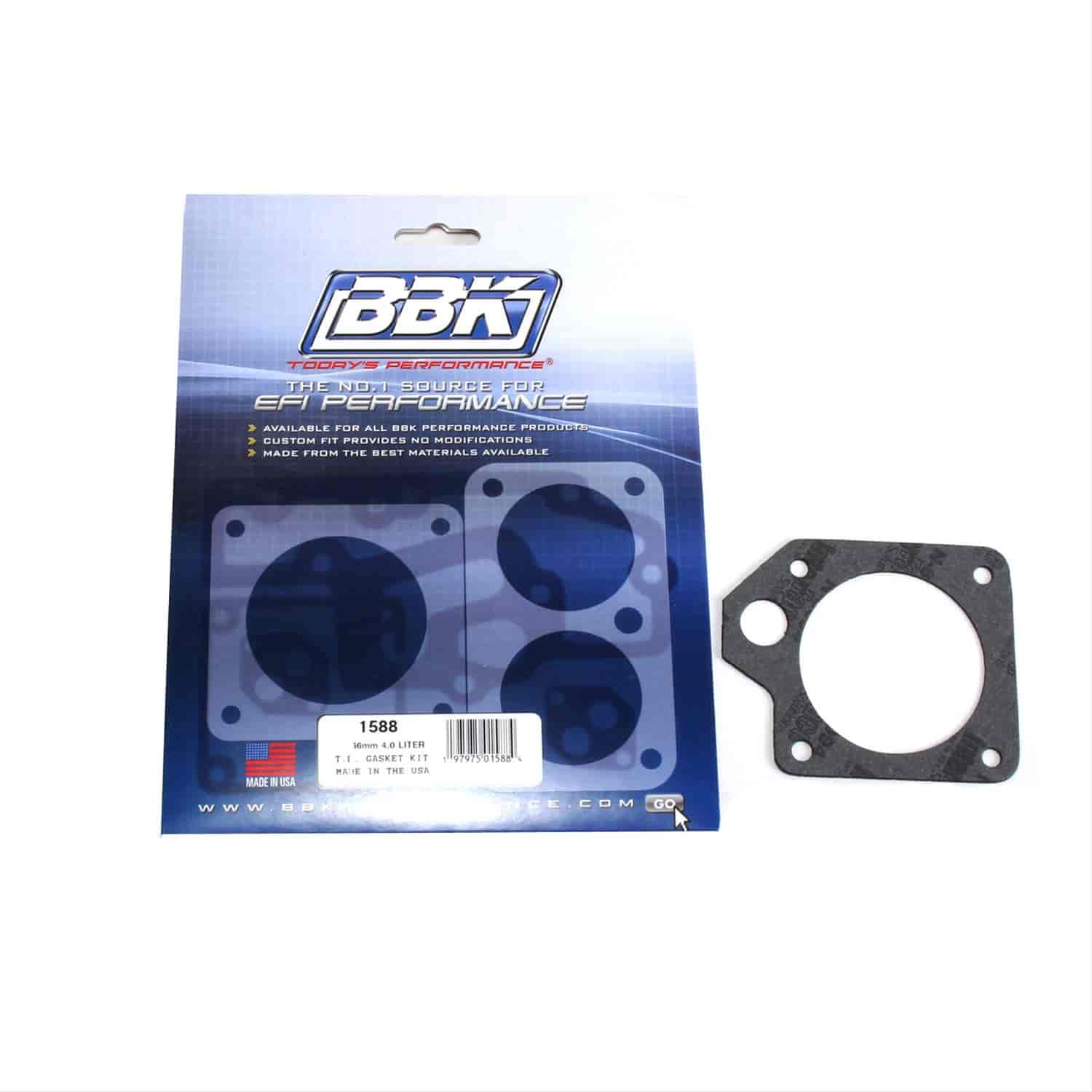 BBK Performance Products 1588 - BBK Throttle Body Gasket Kits