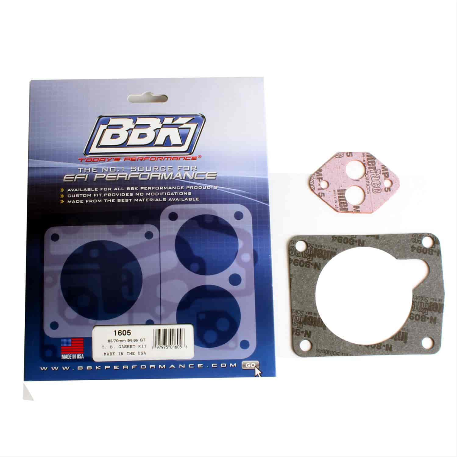 BBK Performance Products 1605 - BBK Throttle Body Gasket Kits