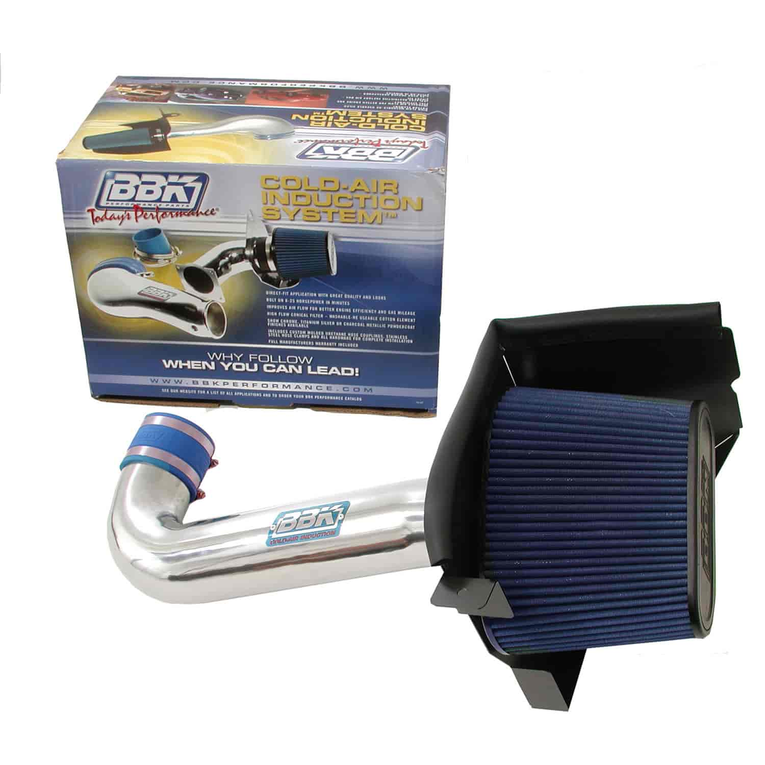 BBK Performance Products 1738 - BBK Cold Air Induction Systems for Mopar