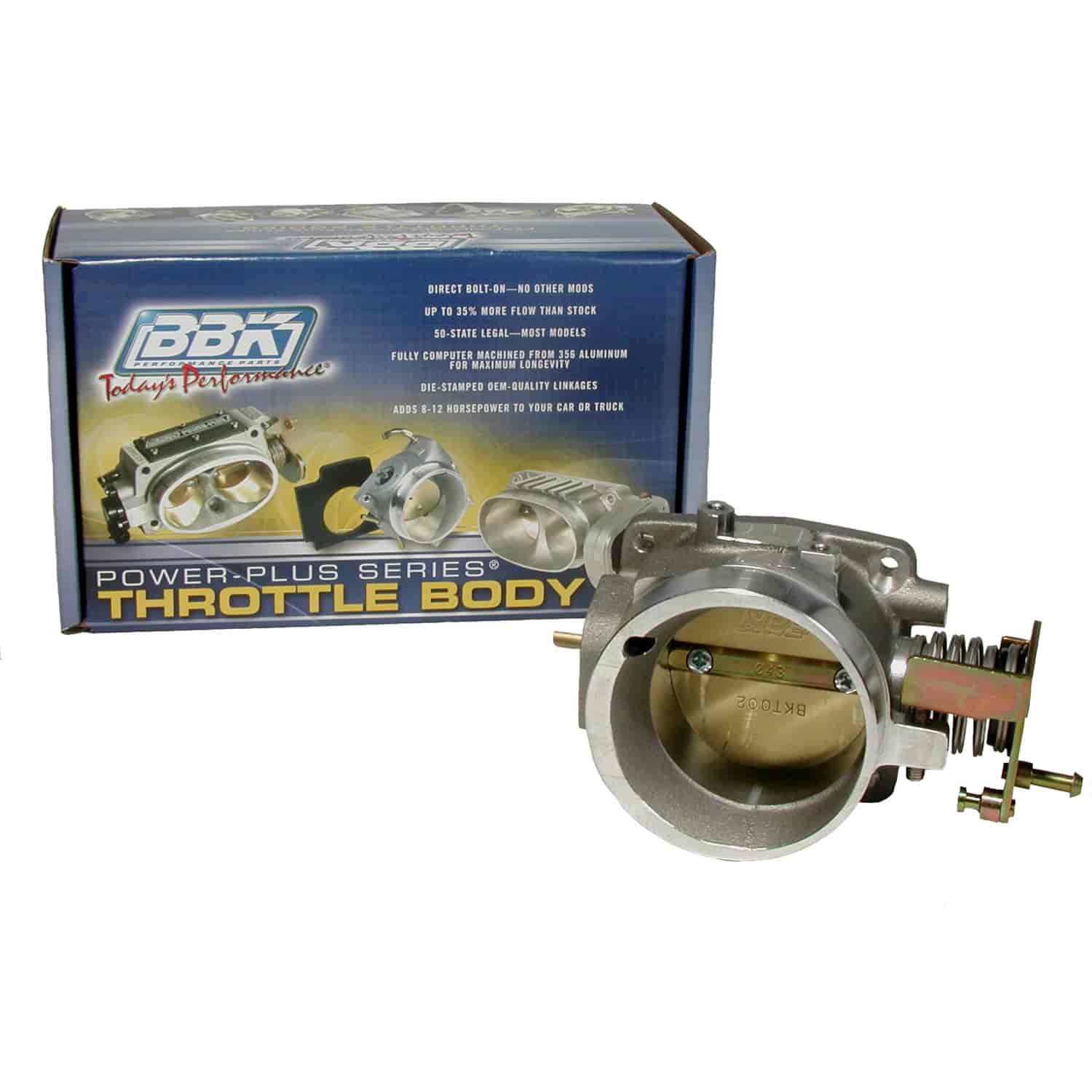 BBK Performance Products 1751 - BBK Ford Power Plus Throttle Bodies