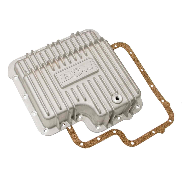 B&M Cast Aluminum Deep Transmission Pan Ford C6