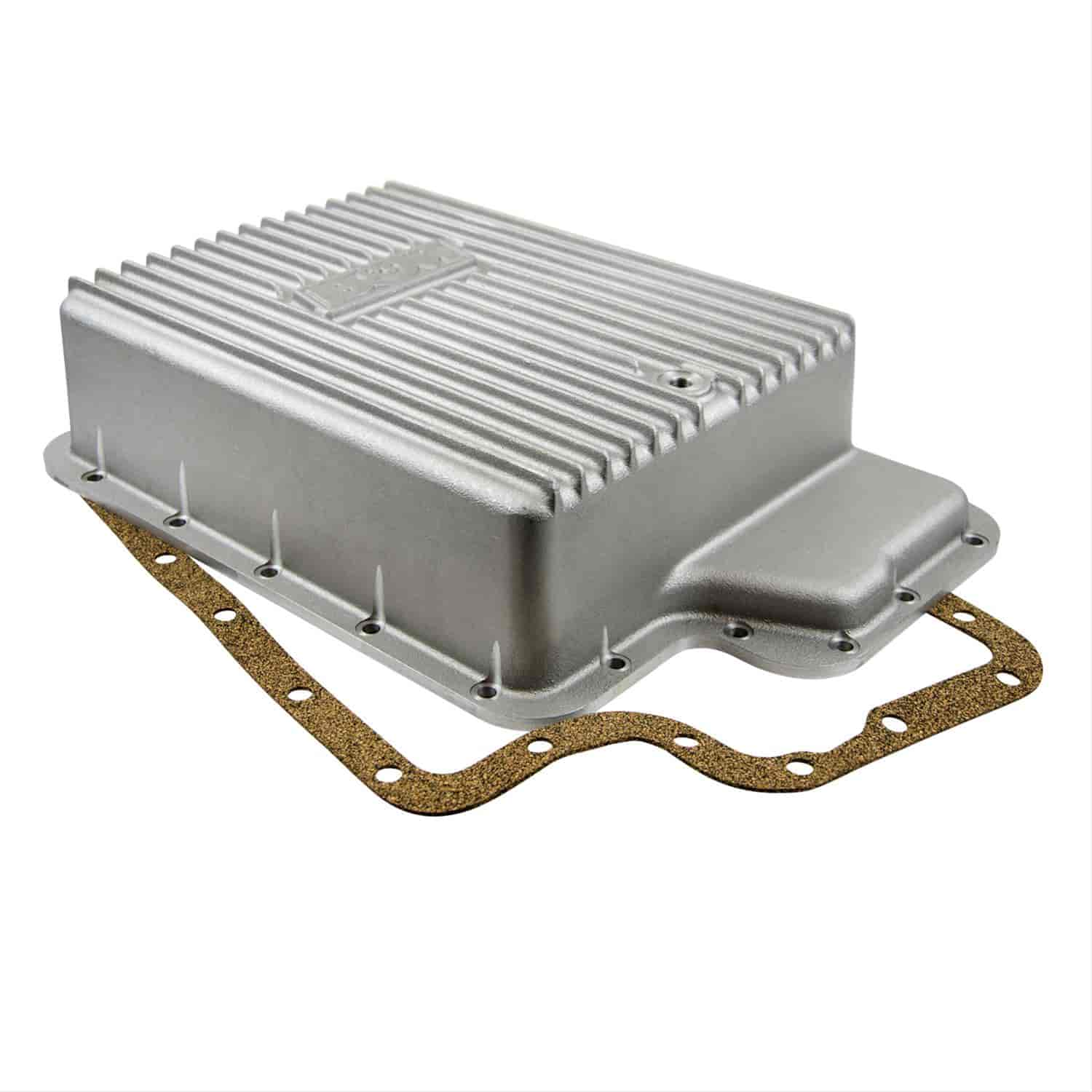 Bm 40295 cast aluminum deep transmission pan ford e4od5r1004r100 bm 40295 cast aluminum deep transmission pan ford e4od5r1004r100 w torque shift 5 speed jegs fandeluxe Choice Image