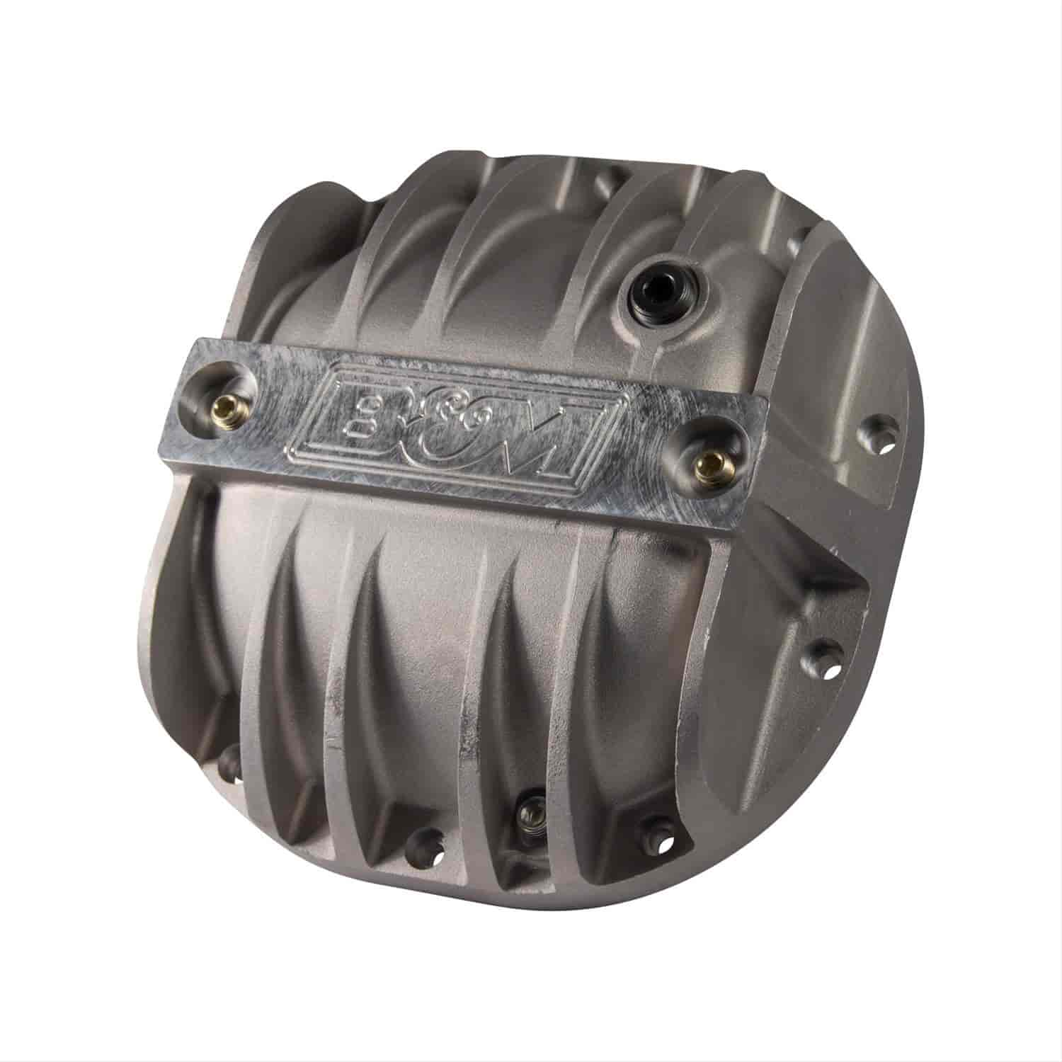 B/&M 10315 Cast Aluminum Rear End Differential Cover for Dana 80