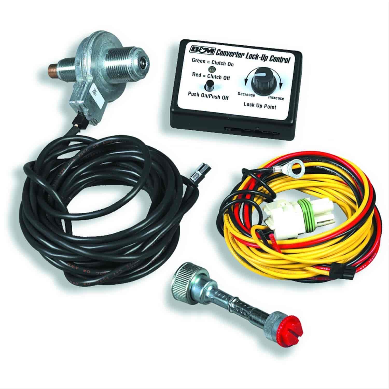 B&M 70244: Dash Mounted Converter Lockup Controller GM 700R4/TH350C on