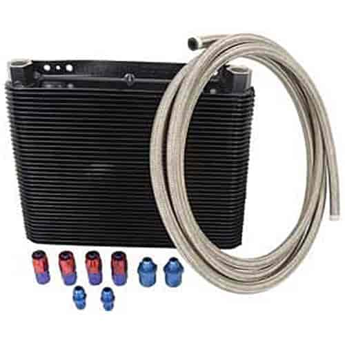 B&M 70266K1 - B&M SuperCooler Transmission Coolers
