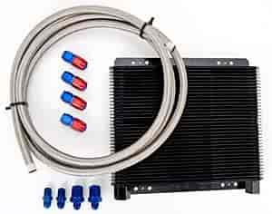 B&M 70266K2 - B&M SuperCooler Transmission Coolers