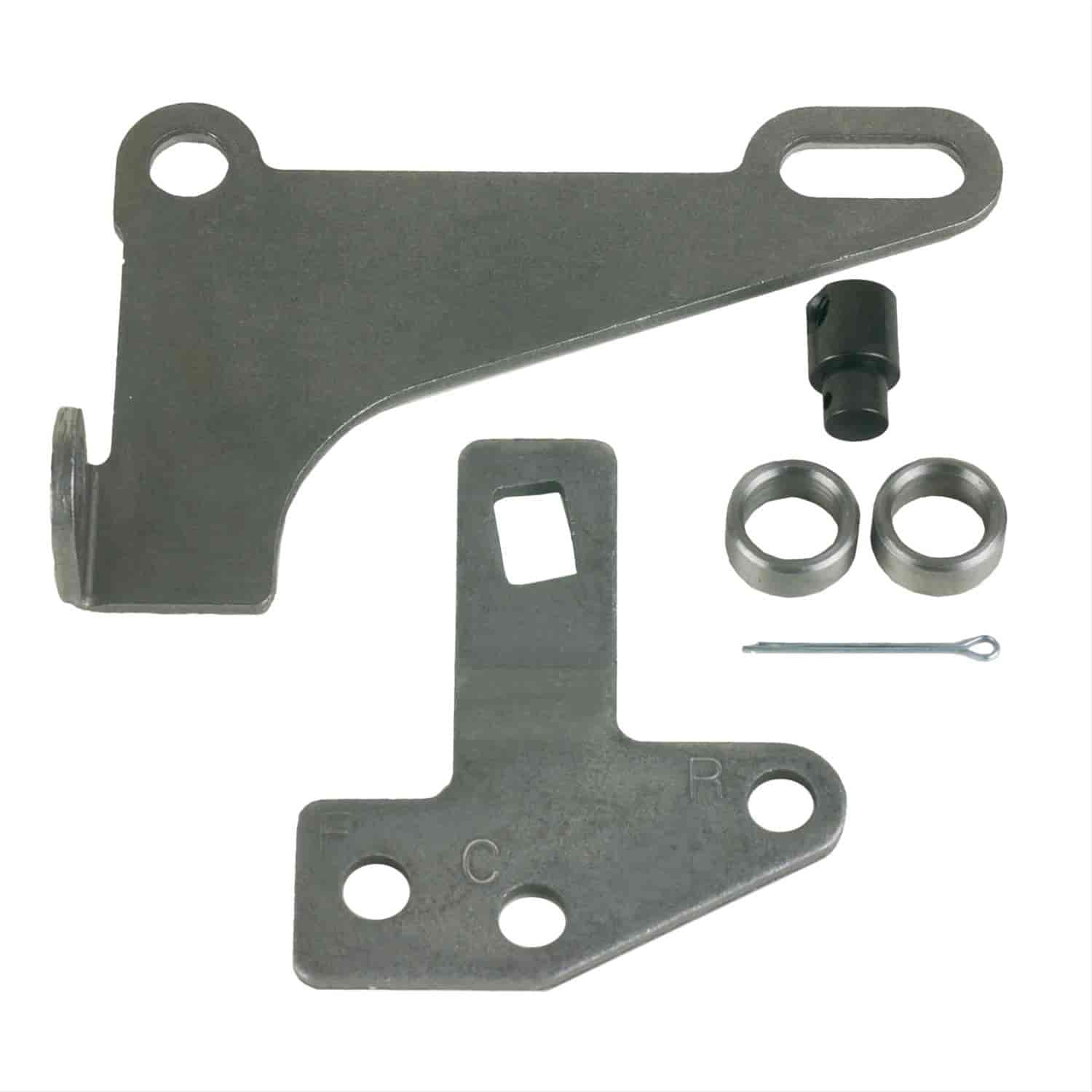 B&M Automatic Shifter Bracket and Lever Kit GM 4L60E, 4L65E, 4L80E, 4L85E  With PRNDL Switch