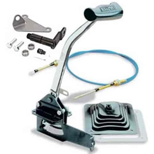 American Shifter 497709 4L80E Shifter Kit 8 E Brake Dipstick for EDB15