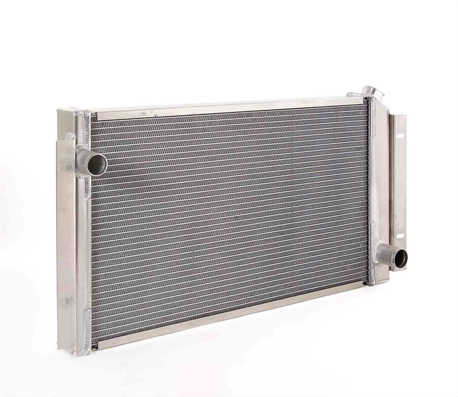 Be Cool Radiators 60021 - Be Cool Crossflow Series Aluminum Radiators