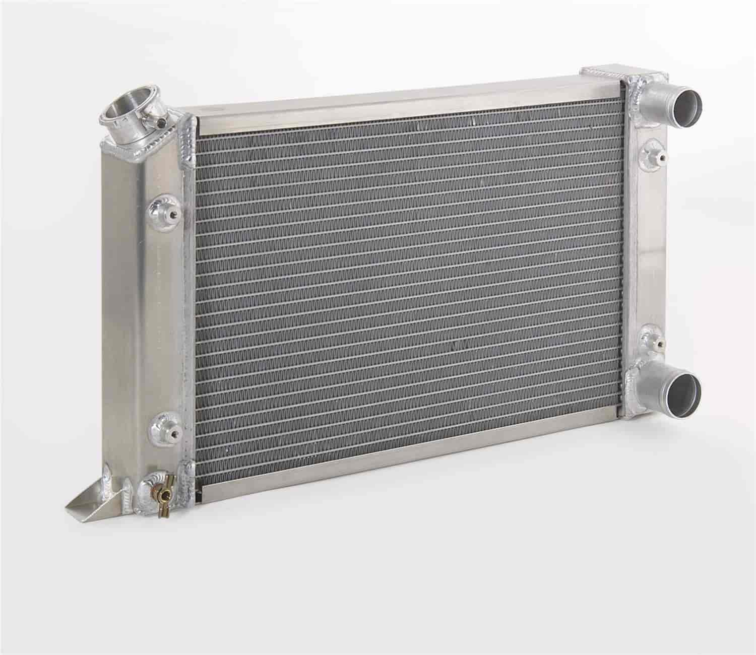 Be Cool Radiators 60200 - Be Cool Scirocco-Style Drag Racing Aluminum Radiators