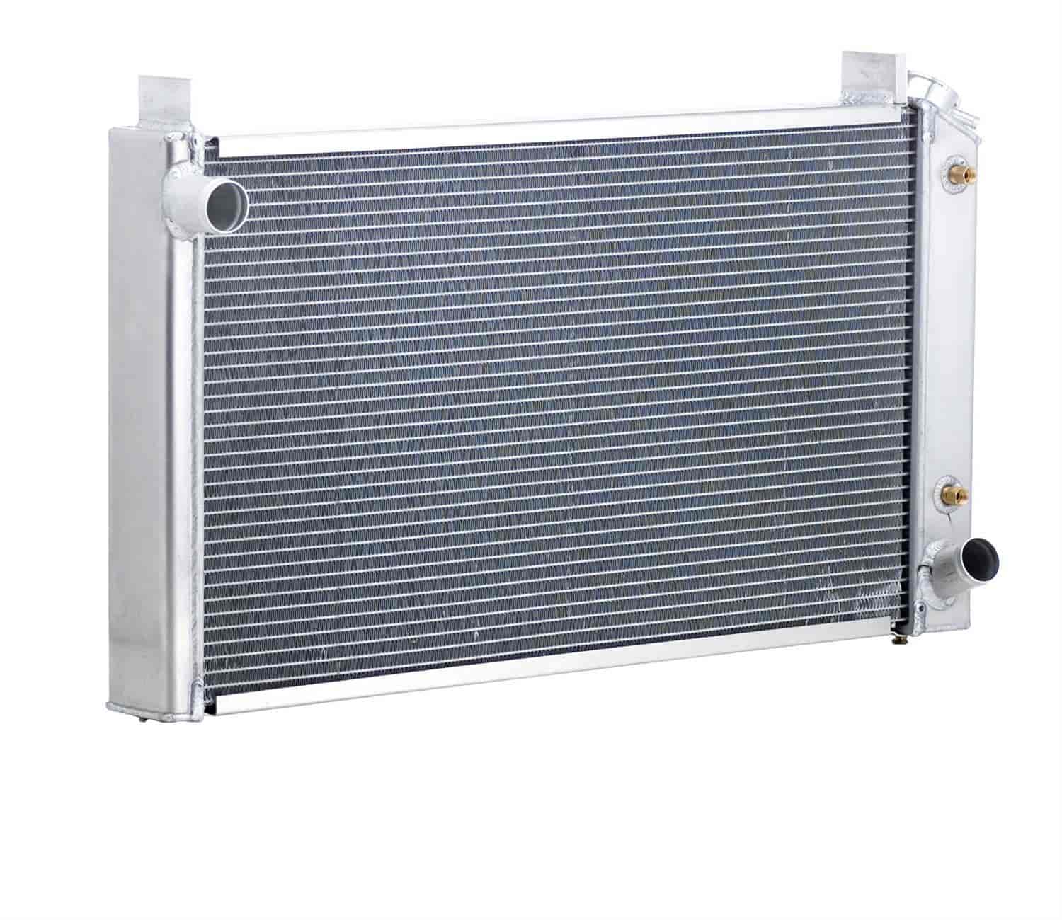 Be Cool Radiators 62018 - Be Cool Crossflow Series Aluminum Radiators