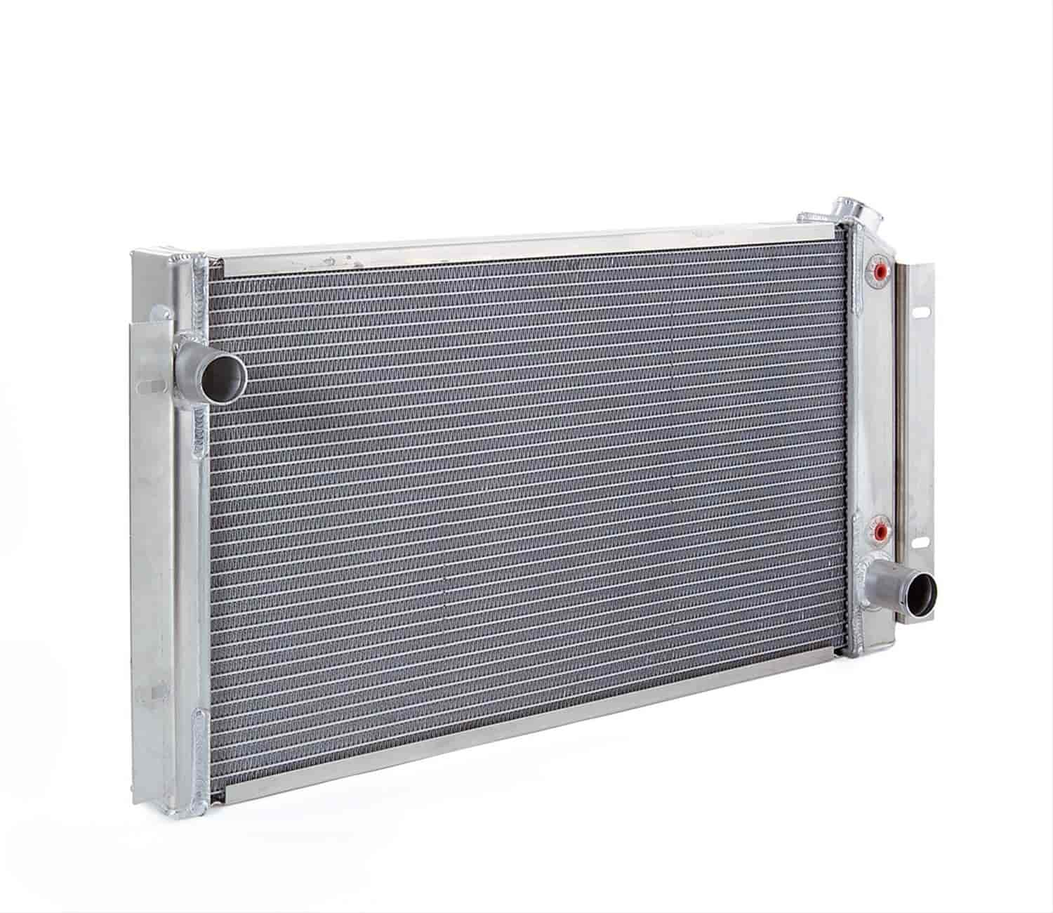 Be Cool Radiators 62021 - Be Cool Crossflow Series Aluminum Radiators