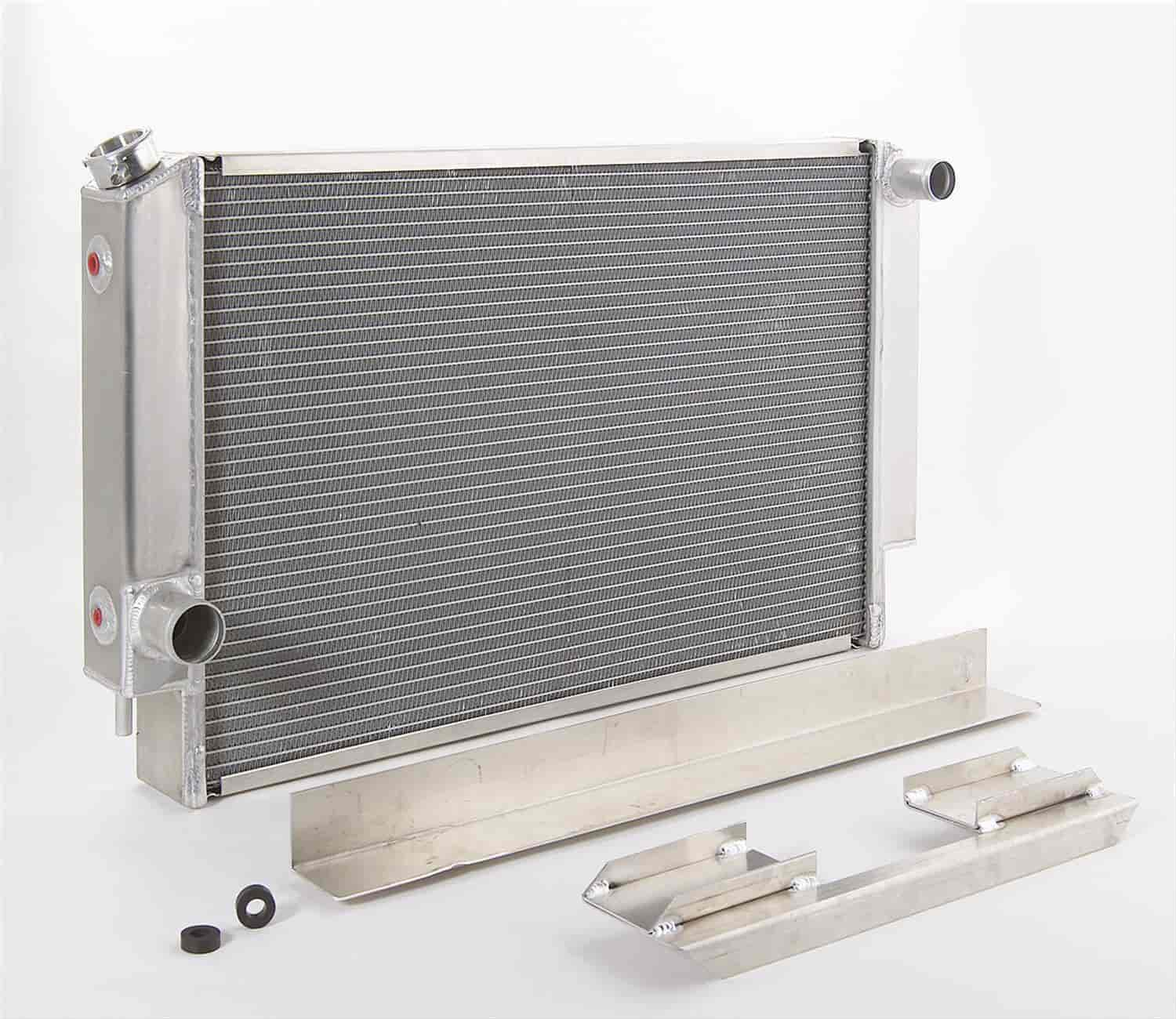 Be Cool Radiators 62172 - Be Cool Crossflow Series Aluminum Radiators