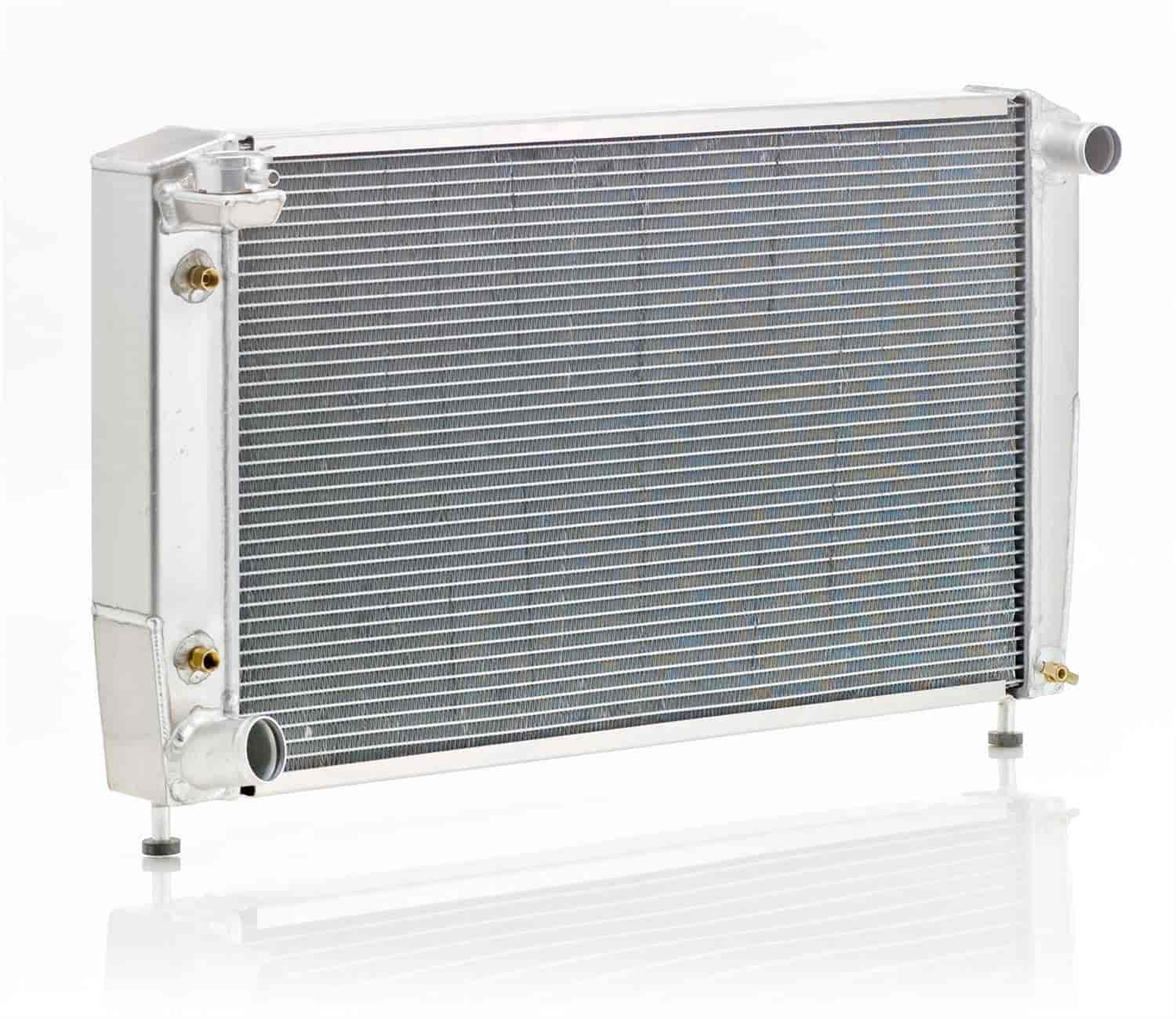 Be Cool Radiators 62187 - Be Cool Crossflow Series Aluminum Radiators