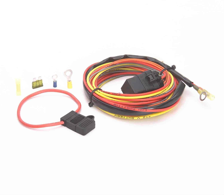 be cool radiators 75017 single fan wiring harness only 40 amp rh jegs com