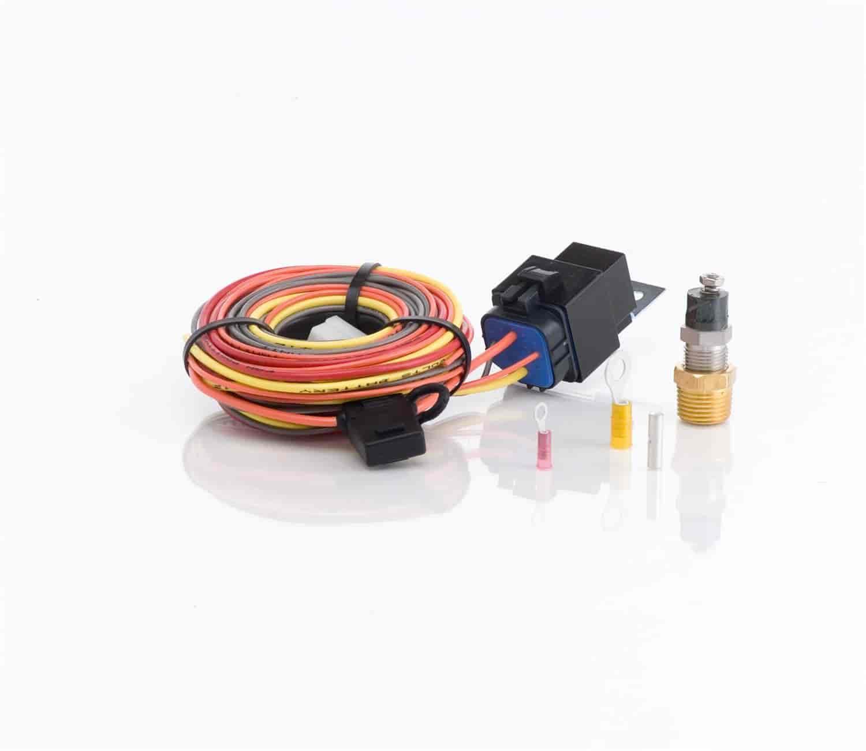 be cool radiators 75021 single fan wiring harness kit 40 amp rh jegs com