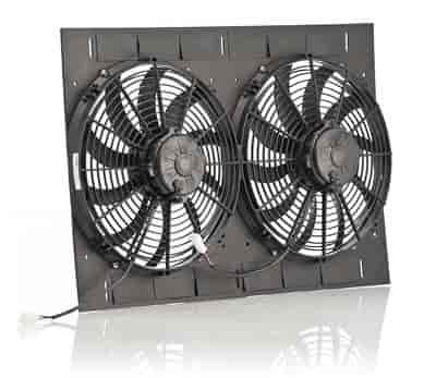 Be cool radiators 75638 13 qualifier dual puller fan jegs be cool radiators 75638 asfbconference2016 Images