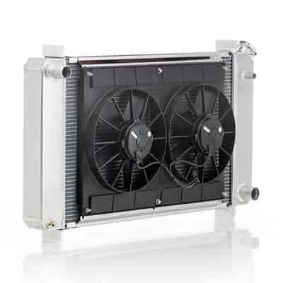 Be Cool Radiators 80008 - Be Cool Complete Crossflow Radiator Module Systems