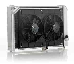Be Cool Radiators 80168 - Be Cool Complete Crossflow Radiator Module Systems
