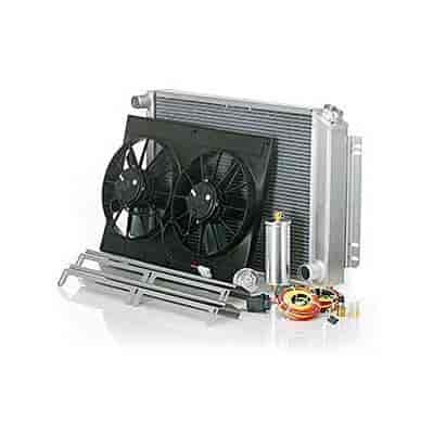 Be Cool Radiators 80263 - Be Cool Complete Downflow Radiator Module Systems