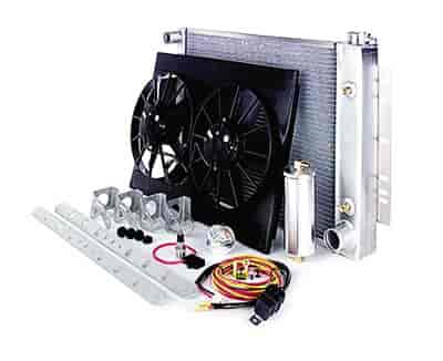 Be Cool Radiators 81168 - Be Cool Complete Crossflow Radiator Module Systems