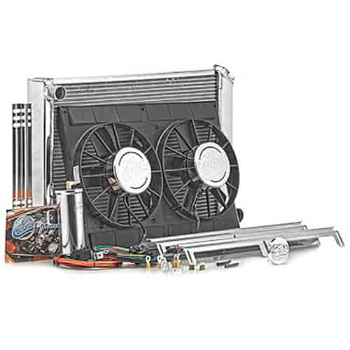 Be Cool Radiators 83008 - Be Cool Complete Crossflow Radiator Module Systems