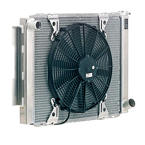 Be Cool Radiators 89006 - Be Cool Featherweight Scirocco/Pro Stock-Style Radiators