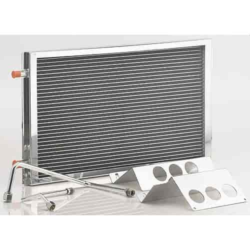 Be cool radiators 97002 1955 57 chevy air conditioning for Air conditioner bracket law