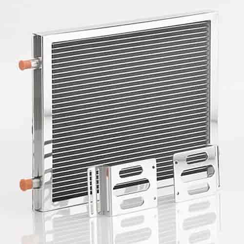Be cool radiators 97003 air conditioning condenser module for Air conditioner bracket law